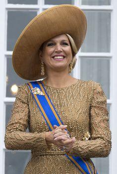 Queen Máxima, September 17, 2013 I The Royal Hats Blog