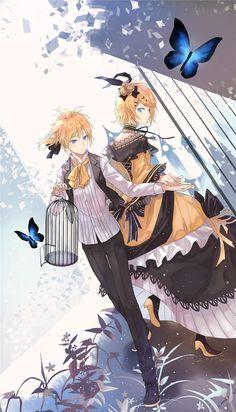 Vocaloid, Kagamine Len, Kagamine Rin