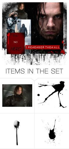 """Troubled Villain or Tragic Hero?"" by capfan2014 ❤ liked on Polyvore featuring art"