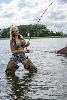 Photo about Beautiful young woman with capture on fly fishing. Image of lure, flow, attention - 32016245 Fly Fishing Girls, Fly Fishing Basics, Fishing 101, Fishing Knots, Gone Fishing, Kayak Fishing, Bikini Fishing, Fishing Stuff, Trout Fishing Tips