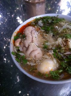 Pig brain soup; yummy~ Perfect! I've been looking for a new soup recipe for camp!!