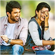 vijay devarakonda geetha govindam becomes no 1 in this year Romantic Couple Images, Wedding Couple Poses Photography, Couples Images, Photo Poses For Couples, Couple Photoshoot Poses, Couple Shoot, Bollywood Couples, Bollywood Actors, Beautiful Bollywood Actress