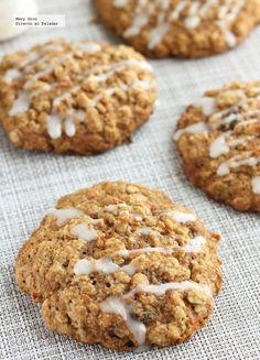 Receta de galletas de avena y zanahoria. Con fotografías paso a paso, consejos y sugerencias de degustación. Recetas de postres