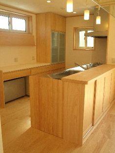 キッチン 背面収納 diy - Google 検索