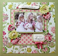Layout: Anna Griffin *Rose Collection*