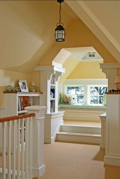 Attic Space. How cozy!