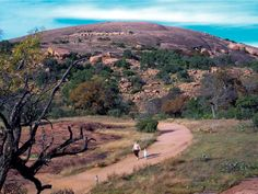 Enchanted Rock State Natural Area. Such a fun hike, was just there a couple of weekends ago! What a work out!