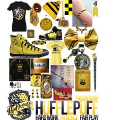 Hufflepuff by twilightlover62000 on Polyvore
