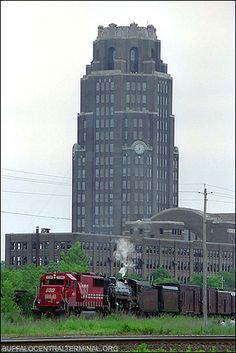 Buffalo's Central Terminal, Buffalo, NY   I lived down the street from that it is truly a memory!!!!!