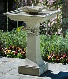 Sure to be a favorite among your garden guests, the Portwenn Fountain will bring the element of nature to your garden or yard.