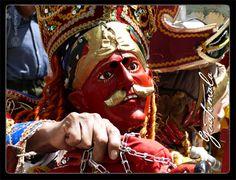 """Danza folklorica de """"La Conquista"""" Totonicapan, Guatemala"""