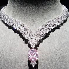 "GABRIELLE'S AMAZING FANTASY CLOSET | Incredible 30ct natural pink diamond "" Juliet Pink Diamond"""