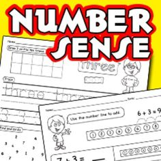 Worksheets for numbers 1-10 (draw, trace, find, color and write)