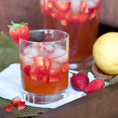 Strawberry Beer Lemonade-just wishing  it was summertime...