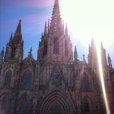 Catedral de #Barcelona Barri Gòtic. #festalcentre