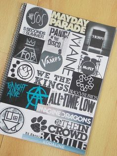 Diy band agenda , imagine dragons, ed sheeran , kodaline , all time low, 5 seconds of summer, the vamps, mayday parade, mc fly, the 1975, the maine