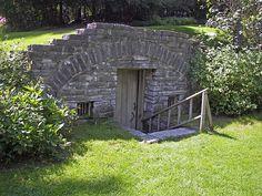 Image result for garden underground shed