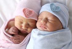 TWIN BABY HAT- twin newborn hat- twin hospital hat- twin hat- twins- twins clothing- baby hat- newborn hat- girl baby hat- boy baby hat - chloe yates - HOME Twin Babies, Baby Girl Newborn, Twin Newborn, Baby Birth, Baby Girl Hats, Baby Boys, Girls Hats, Baby Twins, Boy Girl Twins