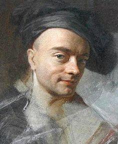 Work Selfie! Autoportrait à la toque d'atelier, 1742, Maurice Quentin de Latour, (Saint-Quentin, Musée Lécuyer)