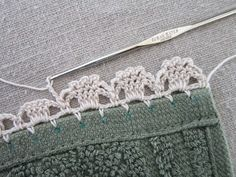 """Garden Series"" Crochet Edgings: #3-Jonquils  Miss Abigail's Hope Chest: crochet"