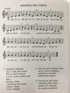 Sheet Music, Advent, Music Sheets