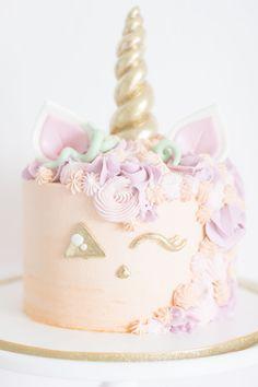 Unicorn Halloween Jack o' Lantern Cake | Best Friends For Frosting