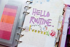 Printables | Daily Planner Pages for October by a:bloggism. #diyplanner  LOVE that first divider.