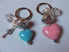 danidan67 hobby creativi: Portachiavi con pietre e perle