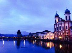 Lucerne twilight