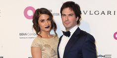 Nikki Reed & Husband Ian Somerhalder Are Couple Goals At EJAF AIDs Foundation's Oscar Viewing Party 2016