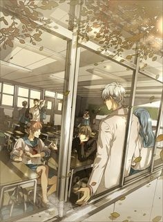 Image shared by Find images and videos about anime, gintama and ginpachi-sensei on We Heart It - the app to get lost in what you love. Anime Love, Me Me Me Anime, Manga Anime, Anime Art, Gintama Wallpaper, Samurai, Manga Story, Okikagu, Cute Cartoon Wallpapers