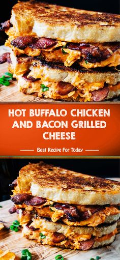 Ingredients non-stick cooking spray 8 slices bacon ¾ cup hot buffalo sauce, such as Frank's RedHot ¼ cup cream cheese, at room temperature ¼. New Recipes, Dinner Recipes, Cooking Recipes, Favorite Recipes, Cooking Food, Quick Recipes, Soup Recipes, Salad Recipes, Buffalo Chicken Wraps
