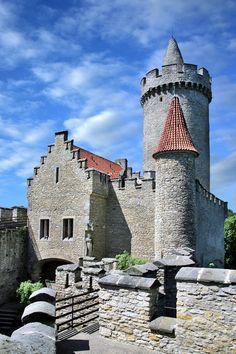 Kokořín gothic castle (Central Bohemia), Czechia