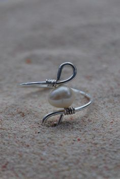 Sea Goddess  Wire Wrapped Ring by thewandererswagon on Etsy