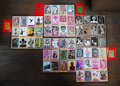 Dead Panini Club #5 - Cartes / United Dead Artists Art Jouet, Toy Art, Photo Wall, The Unit, Artists, Club, Frame, Decor, Cards