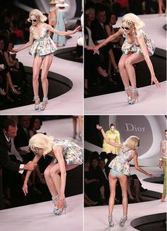 Fashion Show Fail Heels so funny