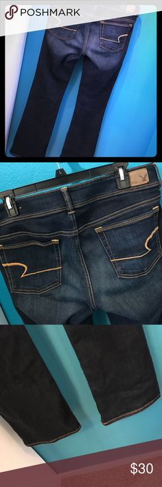 American Eagle Kick Boot jeans👖🦅 BRAND NEW kick boot jeans from American Eagle 🦅. 31-32 inch inseam. These are just to big for me🙈❤️Please NO LOWBALL OFFER and Please NO TRADES❤️If you have any questions please feel free to ask❤️ American Eagle Outfitters Pants Boot Cut & Flare