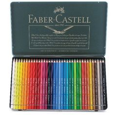Albrecht Durer Watercolor Pencil Sets by Faber-Castell - Cheap Joe's... ($194) ❤ liked on Polyvore featuring home, home decor, school, filler and faber-castell