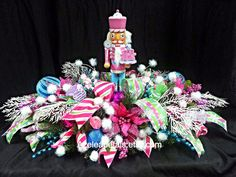 Whimsical Nutcracker Christmas Centerpiece by Azeleapetals on Etsy, $139.99