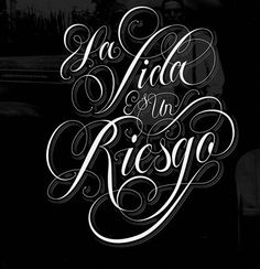 Welcome to the studio of Austin-based commercial lettering artist and designer Ryan Hamrick, a self-taught lover of letters and branding design. Chicano Lettering, Tattoo Lettering Fonts, Hand Lettering, Lettering Styles, Brush Lettering, Calligraphy Letters, Typography Letters, Letras Tattoo, Gangster Tattoos