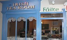 Irish Tea Room in the Irish Shop in Niagara-on-the-Lake Ontario.  Spent what would have been my Nana's 99th birthday having tea and scones at the Tea Room with my Mom for lunch and bought ourselves something in the shop to remember the day for Nana.