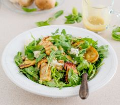 Porcini mushroom salad with gorgonzola and walnuts Porcini Mushrooms, Stuffed Mushrooms, Mushroom Salad, Salads, Stuff Mushrooms, Salad, Chopped Salads