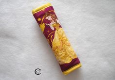 Princess Belle Comfy Seat Belt Cover is the perfect way to provide you with a comfortable car ride while relieving any rubbing and discomfort from seat belts. by ComfyAccessories