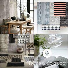 Alfombras y cojines House Doctor - Blog decoración estilo nórdico - delikatissen
