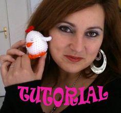 DIY TUTORIAL MINI GALLINA AMIGURUMI uncinetto how to crochet LITTLE CHIC...