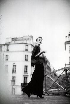 Marie-Sophie Wilson - Paris - 1989.  Photos PETER LINDBERGH