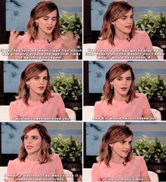 Emma Watson on The Ellen Show (March 3 2017)