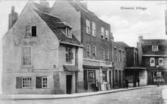 http://www.ebay.co.uk/itm/Chiswick-Village-Post-Office-at-right-unused-old-PC-C-M-Edmunds-/161429741066