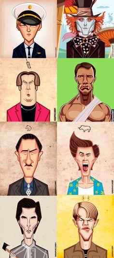 Восемь актёров - пятьдесят шесть ролей