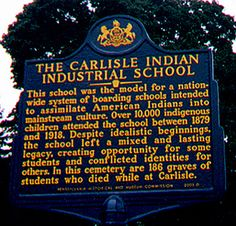 """Idealistic beginnings"" and ""mixed legacy,"" then very quickly and offhandedly ends by noting that 186 children died under their care and weren't returned to their homes. These schools were concentration camps. Native American Beauty, Native American History, Native American Indians, Indian Boarding Schools, Indian Residential Schools, Pennsylvania History, Carlisle, Cumberland County, Historical Society"